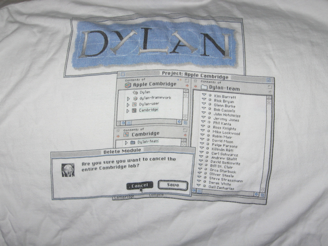 Back of Dylan Shirt
